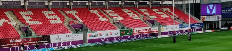 Parc y Scarlets Stand Sponsor